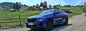Test Drive BMW X6 M Competition: Irezistibil