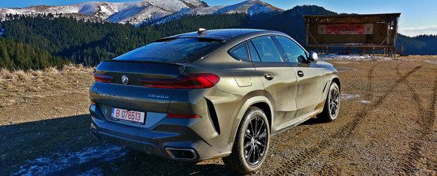Test Drive BMW X6 M50d: Cantecul de lebada