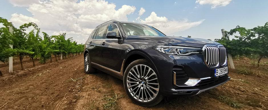 Test Drive BMW X7: Devoratorul de kilometri