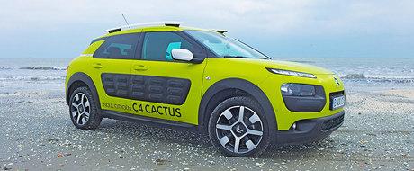 Test Drive Citroen C4 Cactus: inapoi in viitor