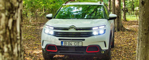 Test Drive Citroen C5 Aircross: fashion SUV