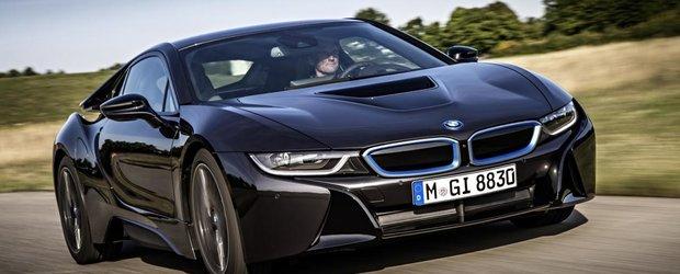 Test Drive cu BMW i8: un super-hibrid ce prezice viitorul