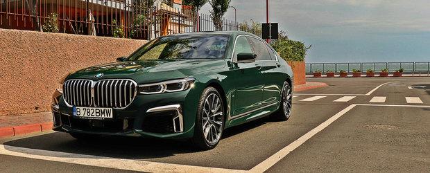 Test Drive cu BMW Seria 7 Individual si doi invitati speciali