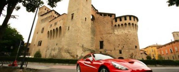 Test-drive cu Ferrari California: sportivitatea si eleganta la ele acasa