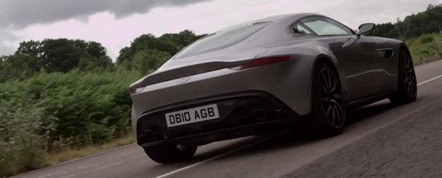 Test drive cu masina lui James Bond. Cum se conduce noul Aston Martin DB10?