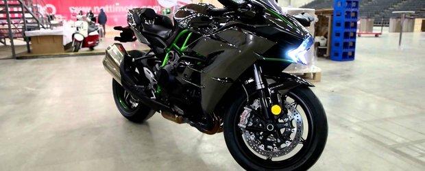 Test drive cu motocicleta supra-alimentata Kawasaki Ninja H2