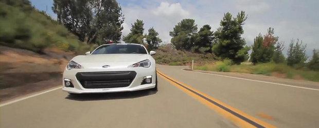 Test drive cu un Subaru BRZ de 450 cai putere