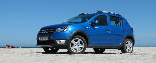 Test Drive Dacia Sandero Stepway: aventura personalitatii