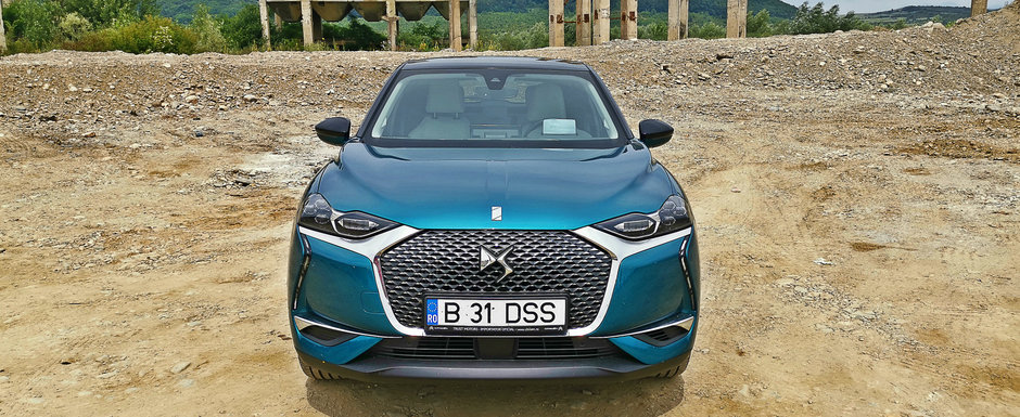 Test Drive DS3 Crossback: Parisul la tine in garaj