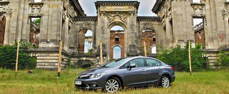Test Drive Honda Civic Sedan 2012: usor de iubit
