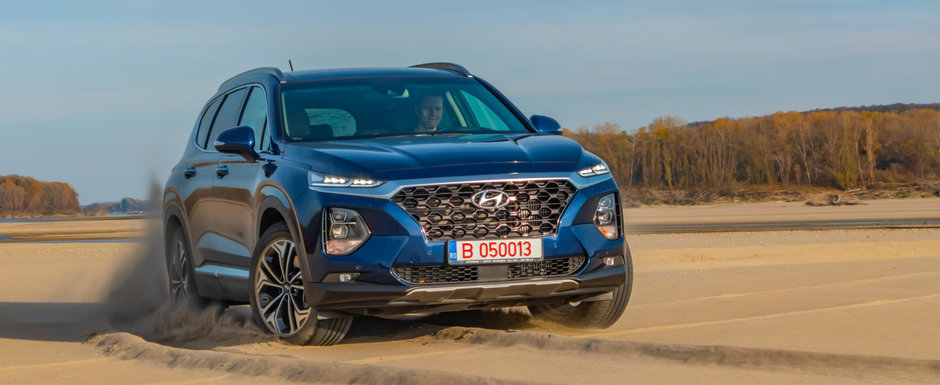Test Drive Hyundai Santa Fe: masina care iti ofera totul