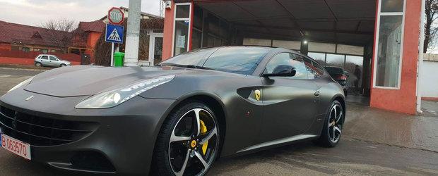 Test Drive in Romania cu Ferrari FF: super-masina cu 4 locuri, ideala pentru toata familia