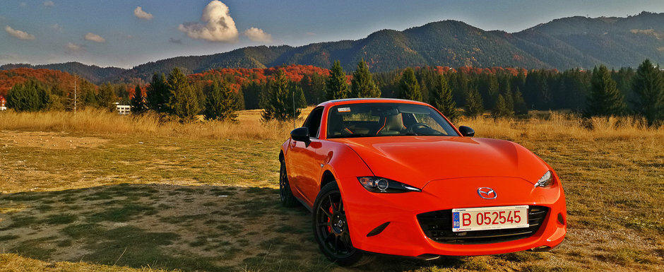 Test Drive Mazda MX-5 30th Anniversary: Simfonie in patru pistoane