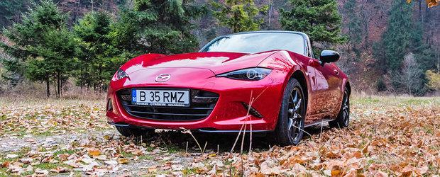 Test Drive Mazda MX-5: atunci cand esti una cu masina