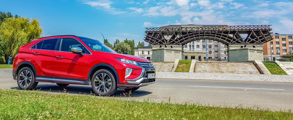 Test Drive Mitsubishi Eclipse Cross: noul jucator