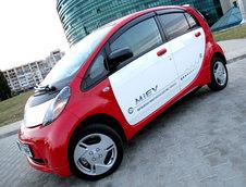 Test Drive Mitsubishi i-Miev: 100% de la priza