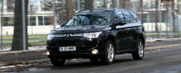 Test Drive Mitsubishi Outlander: ECO-Siguranta