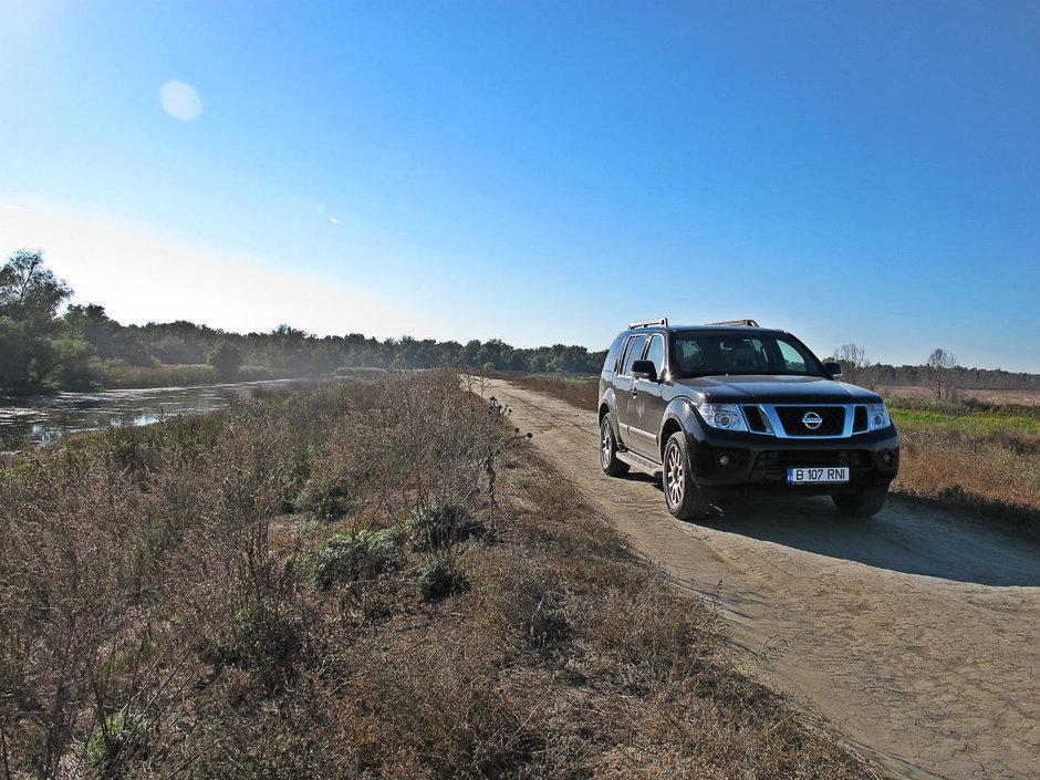 Test Drive Nissan Pathfinder: fauritorul de poteci
