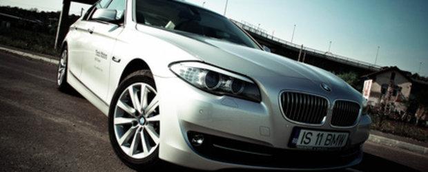 Test Drive - Noul BMW seria 5
