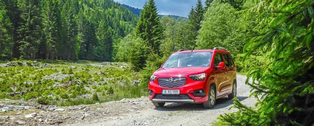 Test Drive Opel Combo Life: liber la distractie