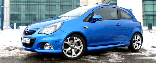 Test Drive Opel Corsa OPC: perfectiune turbo
