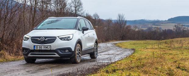 Test Drive Opel Crossland X: marele mic
