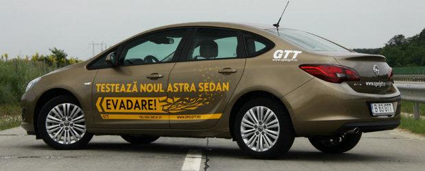 Test Drive Opel GTT: Astra Sedan, masina corecta si fara compromisuri