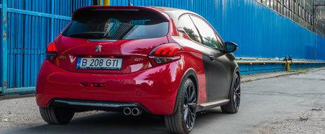 Test Drive Peugeot 208 GTI: leul din cusca