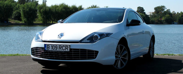 Test Drive Renault Laguna Coupe: Gavroche la costum elegant