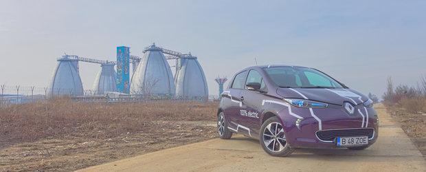 Test Drive Renault ZOE: la ce este buna o electrica in Romania?