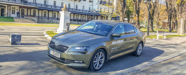 Test Drive Skoda Superb: o alternativa perfecta