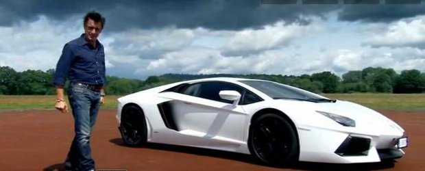 Test-drive: Top Gear testeaza noul Lamborghini Aventador