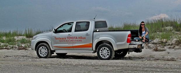 Test Drive Toyota Hilux: viata fara limite si fara asfalt