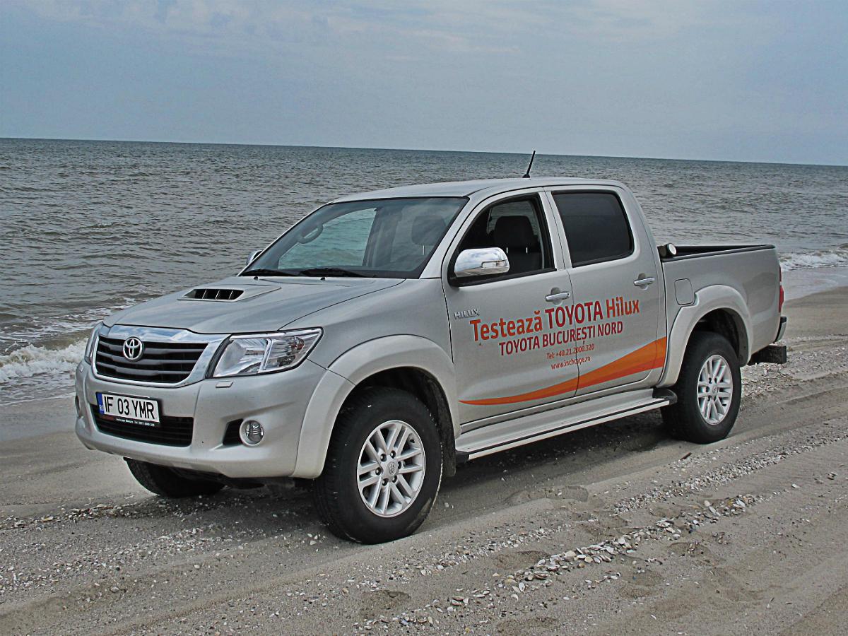 Test Drive Toyota Hilux: viata fara limite si reguli - Test Drive Toyota Hilux: viata fara limite si reguli