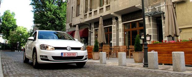 Test Drive Volkswagen Golf 7: familiar
