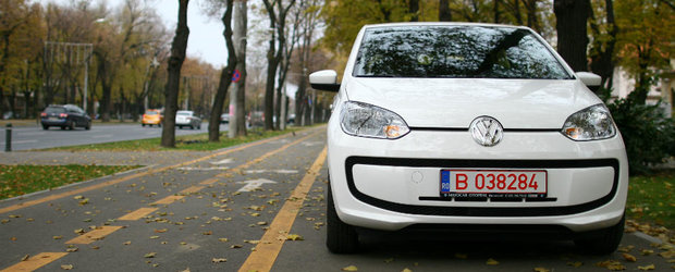 Test Drive Volkswagen up!: placerea are o noua forma
