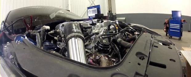 Test dyno cu un Nissan GT-R de 2.000 cai putere