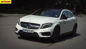 Test in ON si OFF-ROAD cu noul Mercedes GLA45 AMG