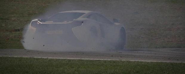 Test la limita cu noul McLaren 650S