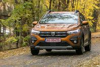 Test noua gama de modele Dacia