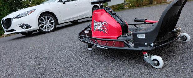 Testeaza Razor Crazy Cart la Salonul Auto Moto Bucuresti!