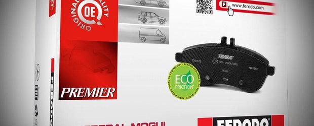 Testele au demonstrat ca placutele de frana Ferodo Eco-Friction nu polueaza si sunt cele mai performante