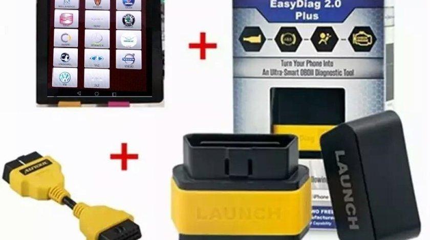 Tester auto profesional multimarca LAUNCH X431 + Tableta Activata Full Soft 2020 meniu Romana