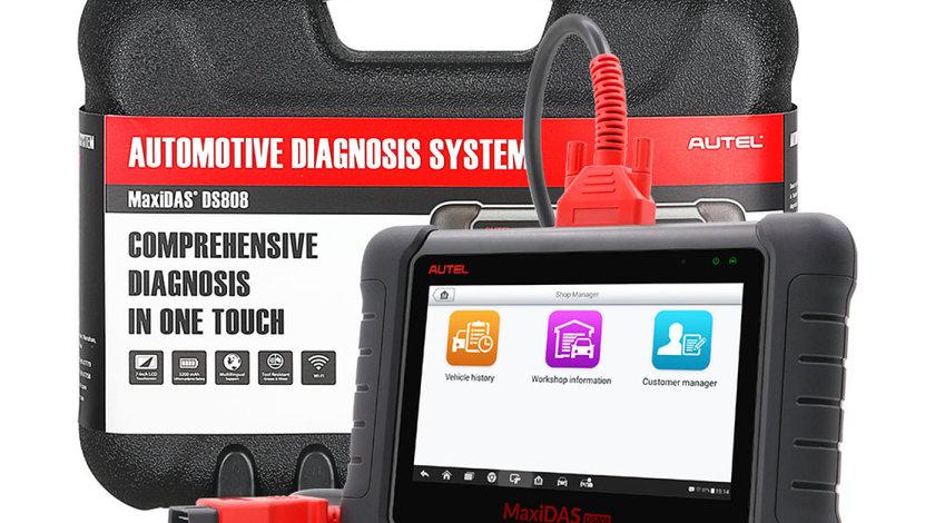 Tester Auto profesional Original Autel Maxidas Ds808 versiune 2018 Update 12 luni FREE