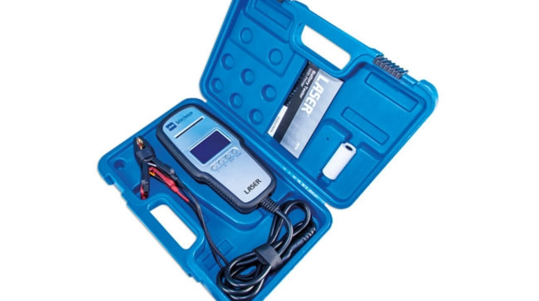 Tester baterie cu imprimantă Laser Tools
