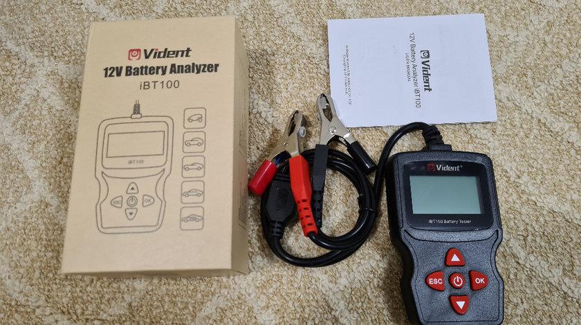 Tester baterii auto Vident iBT100 12V Flooded, AGM,GEL 100-1100CCA Automotive