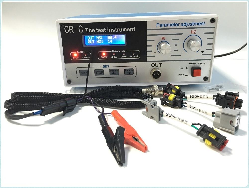 Tester injectoare electromagnetic CR-C diesel common rail Bosch, Delphi, Denso