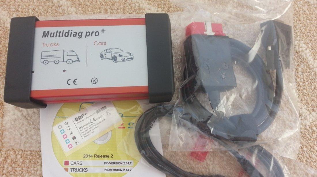 Tester multimarca MultiDiag Pro+ HQ , Bluetooth, limba RO, NEC relays