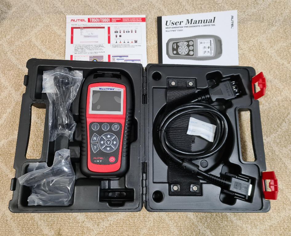 Tester profesional senzori presiune Autel MaxiTPMS TS601 + diagnoza OBD2