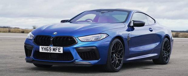 "Testul care iti arata ca noul BMW M8 joaca in alta liga: ""M8-ul asta DISTRUGE un Ferrari!"""